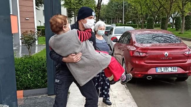 Kocasının dövdüğü yaşlı kadın yurda yerleştirildi