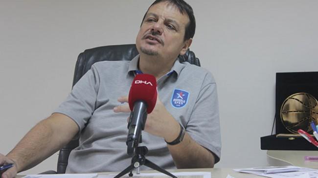 Ergin Ataman'dan gençlere eğitim ve spor ile ilgili mesajlar