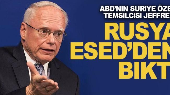 Jeffrey: Rusya, Esed'den bıktı