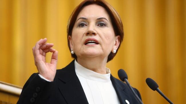 Akşener: Cumhurbaşkanı tüm milletin temsilcisidir
