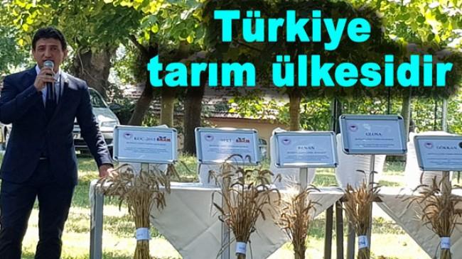 Türkiye tarım ülkesidir