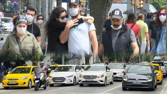 Bağdat Caddesi'nde dikkat çeken görüntüler!