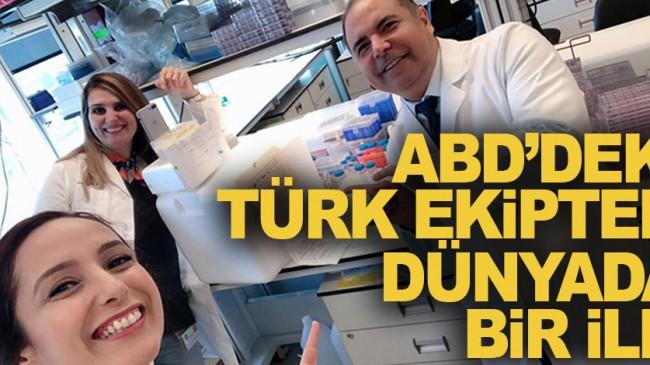 ABD'deki Türk ekipten dünyada bir ilk